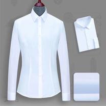 定制 男女长袖衬衫 100支双股100%棉成衣免烫  (国电投专用)