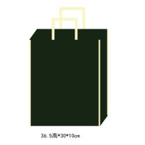 科力普 COLIPU 定制无纺布袋(大)36.5×30×10cm(80g无扣)双面单色logo  (新疆邮政链接)(起订量:5000个)