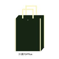科力普 COLIPU 定制无纺布袋(小)31×24×9cm(80g加一个暗扣)双面单色logo  (新疆邮政链接)(起订量:5000个)