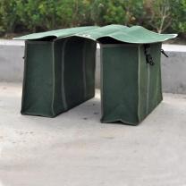 企乐丰 底部防磨加厚加拉链加插卡包 40*25*20cm (绿色) 可定制