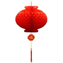 科力普 COLIPU 塑纸灯笼 φ30cm 500个/箱 (红) 2箱起可定制