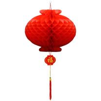 科力普 COLIPU 塑纸灯笼 φ40cm 500个/箱 (红) 2箱起可定制