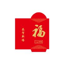 科力普 COLIPU 红包 128g铜版纸 9*17cm 5000个/箱 (红) 2箱起可定制