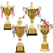 万事达 金属奖杯 140A 16*35.5cm中号  定制足球篮球冠军比赛奖杯刻字奖牌学生运动会杯制作