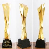 万事达 未来之星奖杯  优秀员工企业单位定做体育比赛活动纪念品奖牌公司年终年会颁奖
