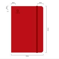 国产 定制绑带本(DZ) (红色) (华夏链接)