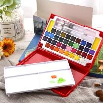 晨光 M&G 定制固体水彩颜料36色 (DZ) ZPLN6504  (下单前请和客服告知您的定制信息,量大优惠,起订量:100)