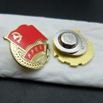 瑞普 党徽 磁扣 2.5cm (红色)