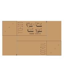 国产 定制会计凭证封面(含封底)299mm×212mm(包角款250mm×150mm) 150克无酸牛皮纸,封底空白 A4竖版  (华润物业华南大区链接)(起订量:500套)