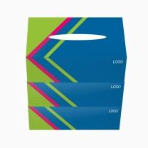 科力普 COLIPU 定制盒装面纸 2层120抽/盒 210x190mm  (起订量:5000盒)