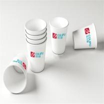国产 定制纸杯 9盎司 250ml 单层淋膜纸杯75*53*88mm  10000只起订 (单位:个)