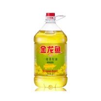 金龙鱼 精炼一级菜籽油 非转基因 5L  150瓶起订