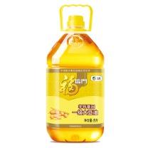 福临门 食用油非转基因一级大豆油 5L  4桶/箱