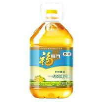 福临门 食用油 非转基因一级菜籽油 5L  4桶/箱