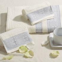 博洋家纺 毛巾两件套 套装  雅客生活