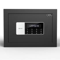 得力 deli 小型电子密码双保保险箱 92619 高25cm