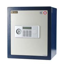 永发 YF 3C认证电子式防盗保险柜 D-45BL3C H450*W390*D330mm (白门箱体蓝) 上海地区含运,外省市运费另询.