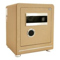 晨光 M&G 纯平指纹密码保险箱 AEQN8916 FDX-A/D-45A2 H470*W390*D350 (香槟金 (碳晶纹)) 2台起订 净重:47kg