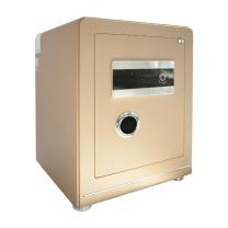 晨光 M&G 纯平指纹密码保险箱 AEQN8917 FDG-A1/D-55A2 H569*W410*D380 (香槟金 (碳晶纹)) 2台起订 净重:75kg