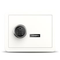 永发 YF 3c认证指纹密码保险箱 30BPM3C-06 H300*W380*D300 (皓月白) 重量:26kg
