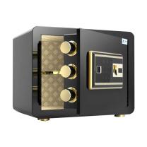 臻远 指纹锁保险柜 ZY-KLP-BXG41 H250*W350*D250(高*宽*深) (尊贵黑)