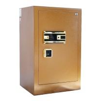 晨光 M&G 金甲指纹密码保管箱 AEQN8914 BGX-5/D2-73A1 H792*W480*D400 (摩卡金 (岩石皱纹)) 2台起订 净重:53kg
