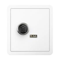 永发 YF 3c认证指纹密码保险箱 40BPM3C-06 H400*W380*D300 (皓月白) 重量:35kg