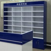 鑫华信 表格资料柜 041-ZG 2000*350*1300 (蓝+亮光白)