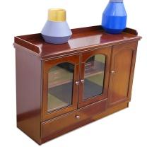 HiBoss 茶水柜 CSG001 W800*D400*H850  办公室客厅茶水柜子 油漆茶水柜