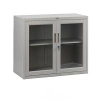 集大 JIDA 玻璃开门柜 CA-BK-7 H750*W800*D400mm (灰白色) 仅限上海