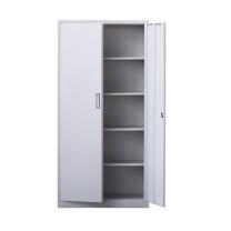 臻远 对开铁门资料柜文件柜 ZY-KLP-G060 H1800*W850*D390 (灰白色)