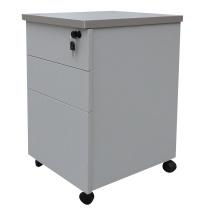 顺华 木抽三抽活动柜 W410*D450*H610mm (颜色可定制) 仅限上海地区直送,郊区运费另询。