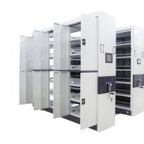 臻远 智能密集架移动式档案柜文件资料架钢制轨道智能密集架一列3组 MJJZ-3 H2360*W2700*D560 (白色)