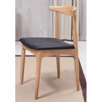 国产定制纯实木牛角会议椅 (咖啡色)