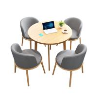 臻远 一桌四椅洽谈桌 ZY-SFCJ-35 椅子:W460*D460*H840