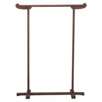 国产中式榆木衣帽架 120*33*150cm