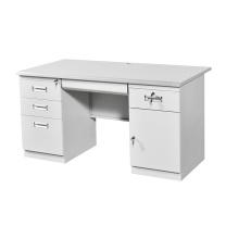 臻远 钢制办公桌 ZY-KLP-G095 1200*600*750 (灰白色) 5张以上含安装