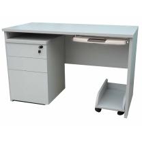 顺华 办公桌 SH-1260C W1200*D600*H750 mm (灰白色) 仅限上海地区直送,郊区运费另询。