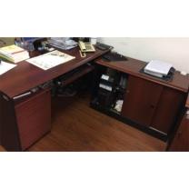 震怡 办公桌 主桌W1500*D700*H750mm 侧柜W1000*D420*H680mm 活动柜W410*D500*H620mm