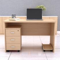臻远 单人办公桌 ZY-KLP-LX01 W1200*D600*H750mm
