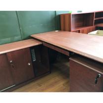 震怡 员工办公桌 ZY-105 主桌W1500*D700*H750 (胡桃色)