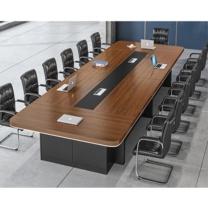 臻远 会议桌 ZY-KLP-G262 W3500*D1500*H750 (柚木色)