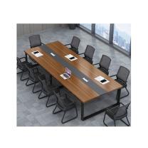 臻远 会议桌 ZY-KLP-Z6081 W2000*D1000*H750 (柚木色) 重量:50KG