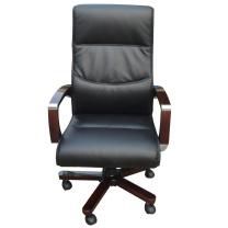 顺华 大班椅半牛皮牛皮椅 SH-862A W665*D500*H1170-127mm (黑色) 仅限上海地区直送,郊区运费另询。