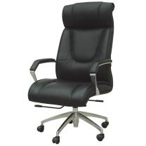 顺华 大班椅半牛皮皮椅 SH-6006A W650*D760*H1200-1270mm (黑色) 仅限上海地区直送,郊区运费另询。