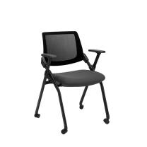 恩荣 b-chair 培训椅 R462LF36 W600xD545xH835mm  带滑轮