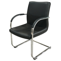 顺华 会议椅仿皮椅 SH-646 W600*D700*H900mm (黑色) 仅限上海地区直送,郊区运费另询。