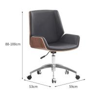 臻远 职员椅 ZY-KLP-G373 H880*W590*D530 (黑色) 15kg