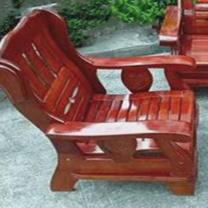 臻远 实木单人位沙发 zy-klp-xz04 H940*W780*D840