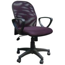 顺华 职员椅网椅 SH-643E W585*D500*H820-920mm (黑色) 仅限上海地区直送,郊区运费另询。